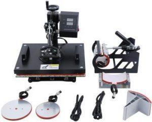 Upgrade 5 in 1 Hitze Presse Maschine