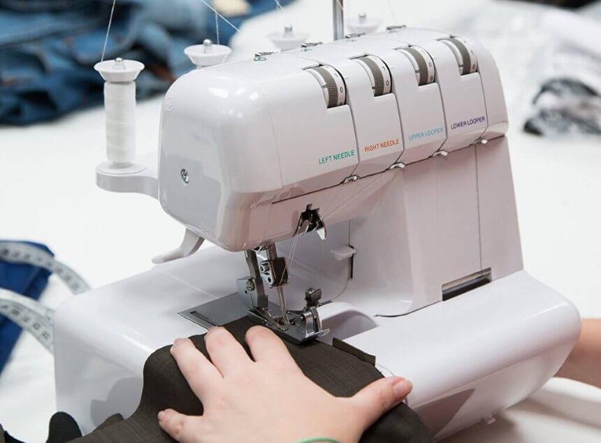 10 Overlock Nähmaschinen Test – Ein Gerät Für Fortgeschrittene