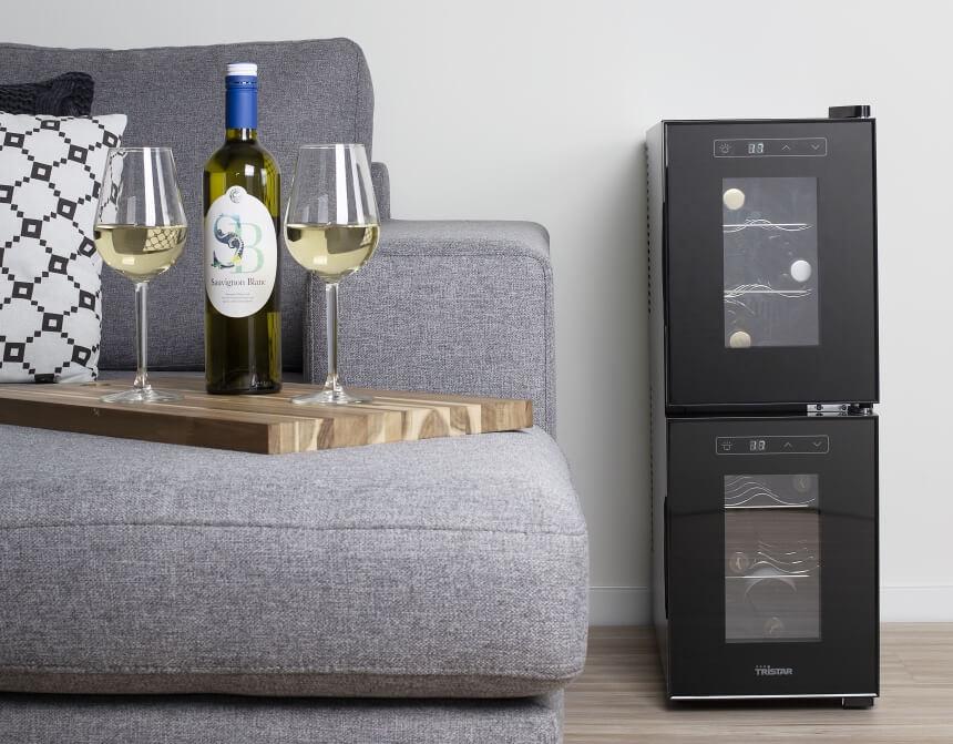 6 Weinkühlschränke 2 Zonen Test - Perfekte Kühlvariante Für Ihre Lieblingsweine