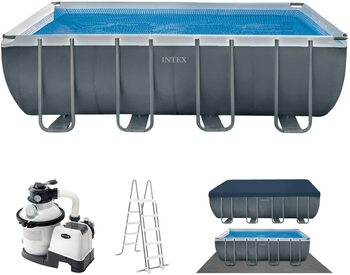 Schwimmbadrahmen-Set Ultra Quadra 26356
