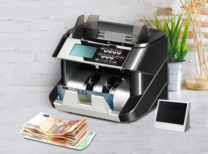 6 Geldzählmaschinen Test - in kürzester Zeit das Ersparte zählen