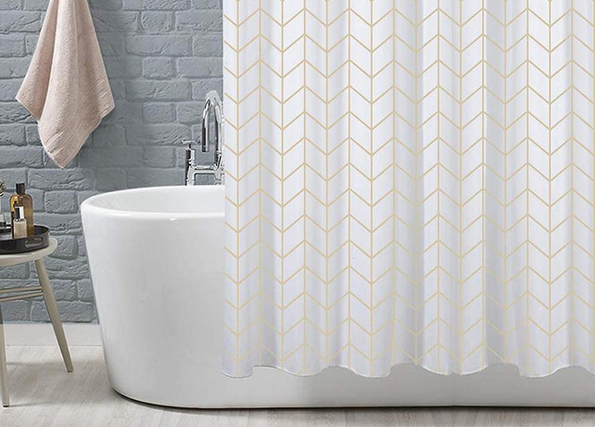 8 Duschvorhänge Test - Privatsphäre beim Duschen