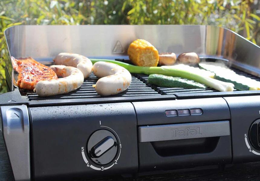 8 Elektrogrille Test – drinnen oder draußen grillen