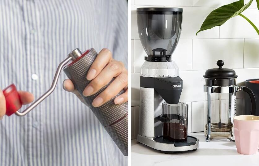7 Espressomühlen Test - frische Kaffeebohnen per Knopfdruck zu Pulver verarbeiten