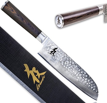 Kirosaku Premium Santoku Messer