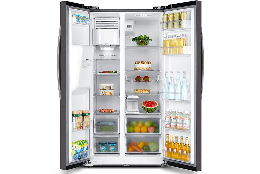 6 Kühlschränke mit Eiswürfelspender Test – mit und ohne Festwasseranschluss