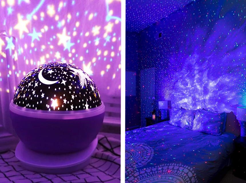 7 Sternenhimmel-Projektoren Test - Schlafzimmer im Nu in einen Sternenhimmel verwandeln