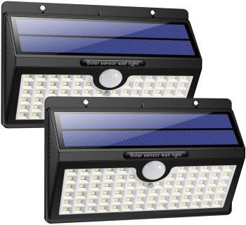 78 LED Solarlampe