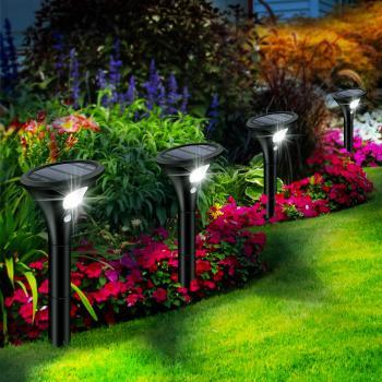 Gartenleuchten Solar mit Bewegungsmelder
